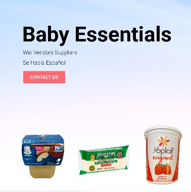 Baby Essentials website